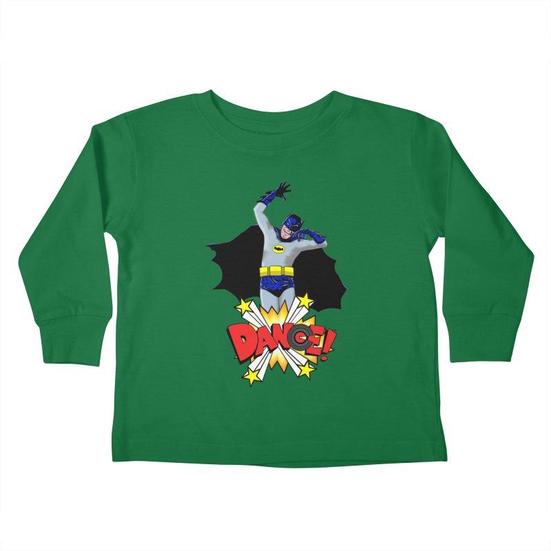 Bat-Dance! Kids Toddler Longsleeve T-Shirt by exiledesigns's Artist Shop