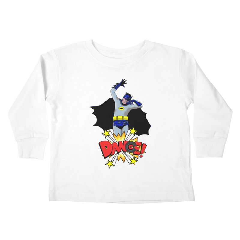 Bat-Dance! Kids Toddler Longsleeve T-Shirt by exiledesigns's Artist Shop