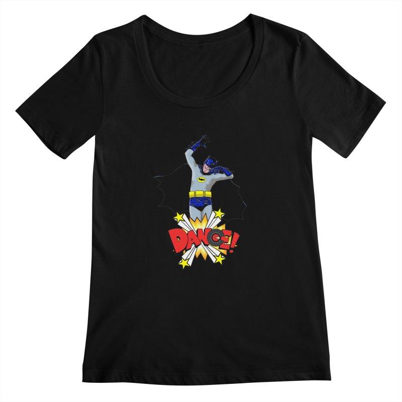 Bat-Dance! Women's Scoopneck by exiledesigns's Artist Shop
