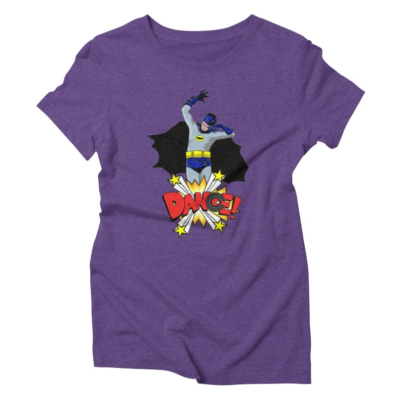 Bat-Dance! Women's Triblend T-shirt by exiledesigns's Artist Shop