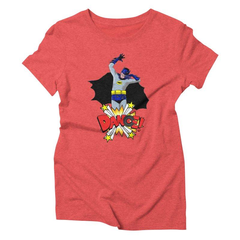 Bat-Dance! Women's Triblend T-shirt by exiledesigns's Artist Shop
