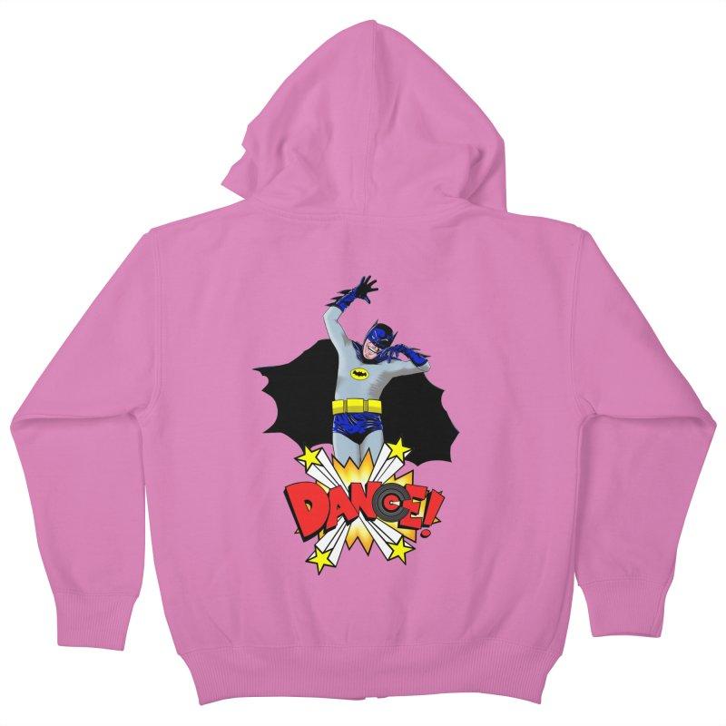 Bat-Dance! Kids Zip-Up Hoody by exiledesigns's Artist Shop