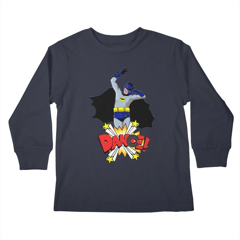 Bat-Dance! Kids Longsleeve T-Shirt by exiledesigns's Artist Shop