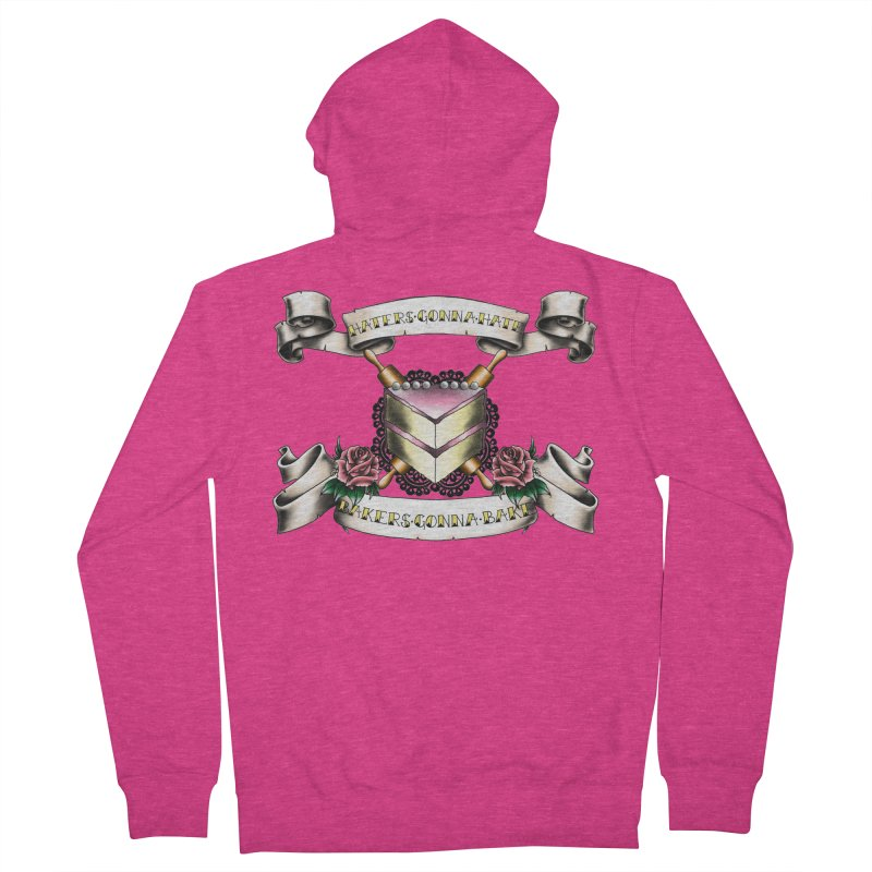 Bakers Gonna Bake Women's Zip-Up Hoody by exiledesigns's Artist Shop
