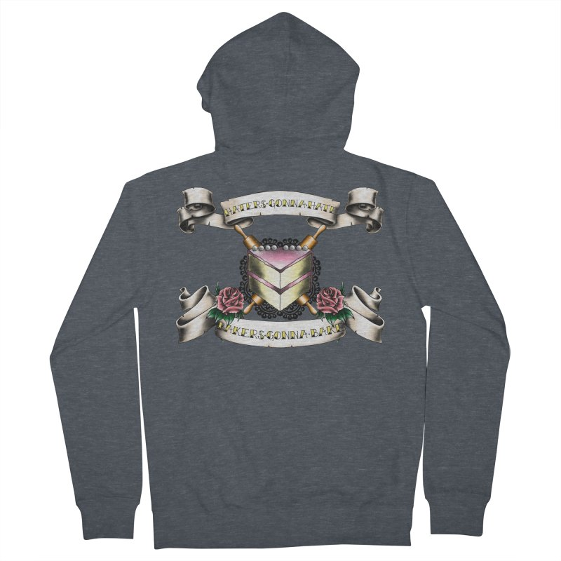 Bakers Gonna Bake Men's French Terry Zip-Up Hoody by exiledesigns's Artist Shop