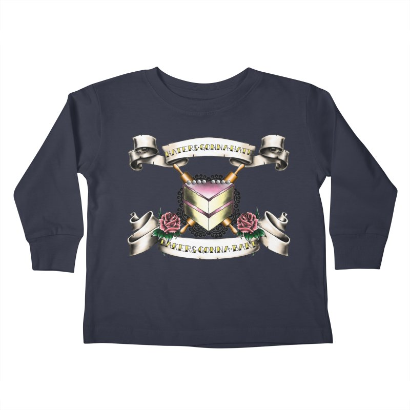 Bakers Gonna Bake Kids Toddler Longsleeve T-Shirt by exiledesigns's Artist Shop