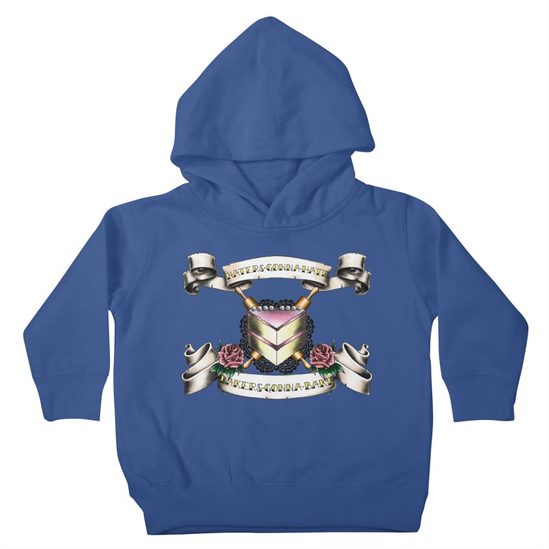 Bakers Gonna Bake Kids Toddler Pullover Hoody by exiledesigns's Artist Shop