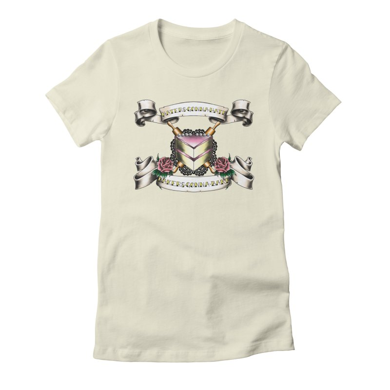 Bakers Gonna Bake Women's Fitted T-Shirt by exiledesigns's Artist Shop