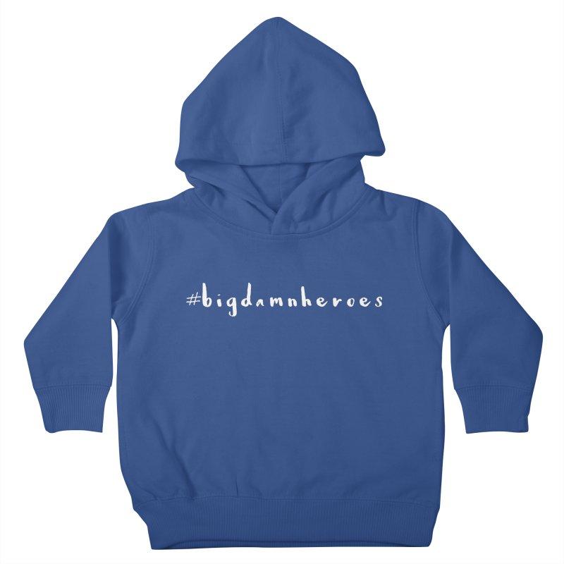 #bigdamnheroes Kids Toddler Pullover Hoody by exiledesigns's Artist Shop
