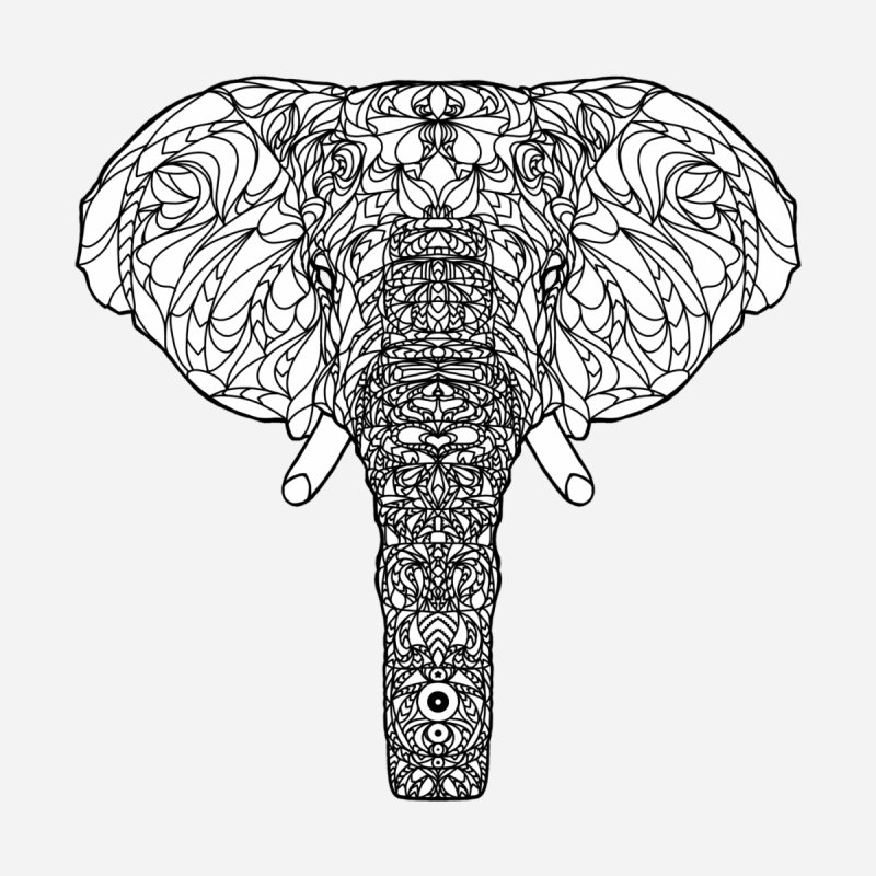 The Majestic Elephant None  by exiledesigns's Artist Shop