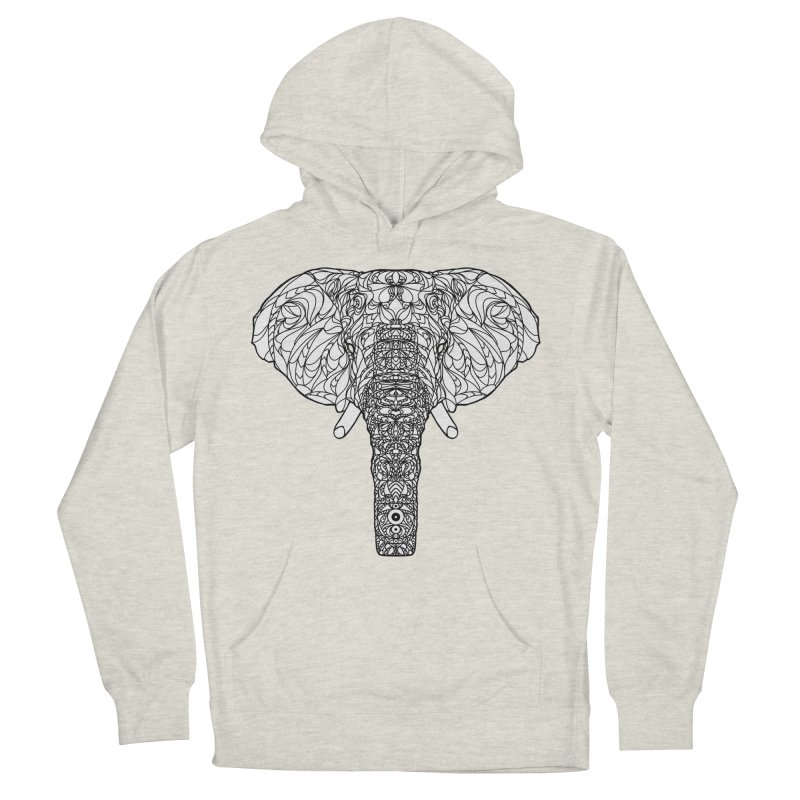 The Majestic Elephant Women's Pullover Hoody by exiledesigns's Artist Shop