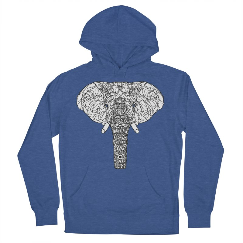 The Majestic Elephant Men's Pullover Hoody by exiledesigns's Artist Shop