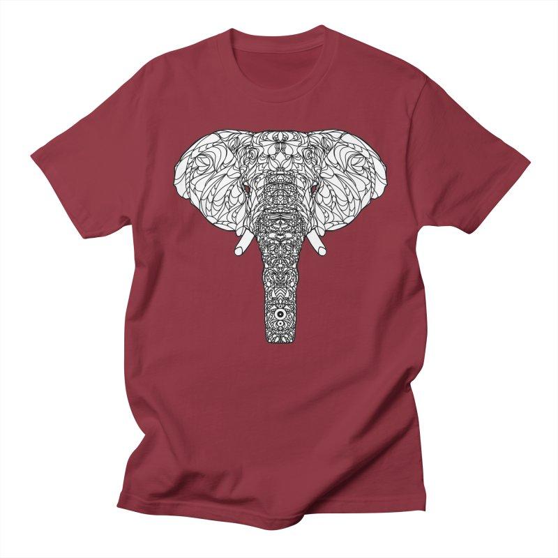 The Majestic Elephant Men's T-shirt by exiledesigns's Artist Shop