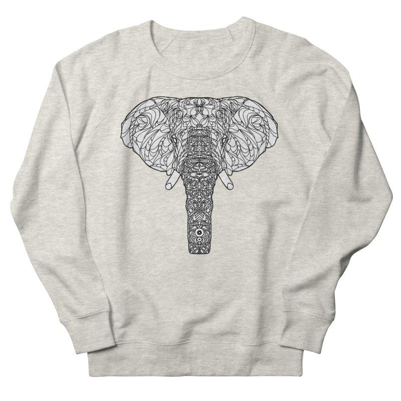 The Majestic Elephant Women's Sweatshirt by exiledesigns's Artist Shop