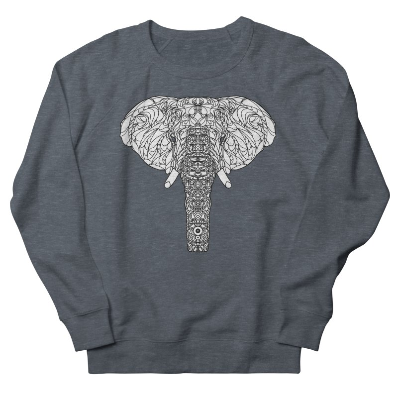 The Majestic Elephant Men's Sweatshirt by exiledesigns's Artist Shop