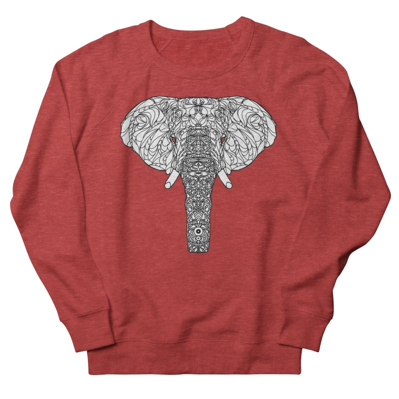 The Majestic Elephant Men's Sweatshirt by exiledesigns's Artist Shop