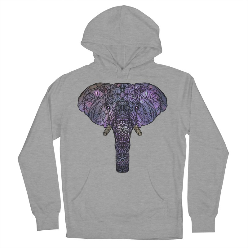 The 'Brilliant' Majestic Elephant  Women's Pullover Hoody by exiledesigns's Artist Shop