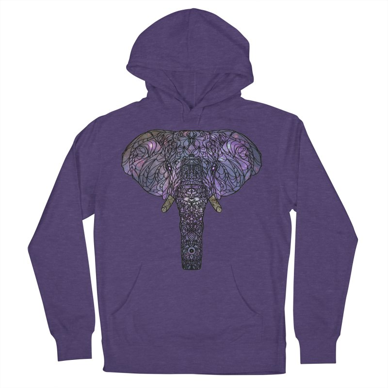 The 'Brilliant' Majestic Elephant  Men's Pullover Hoody by exiledesigns's Artist Shop