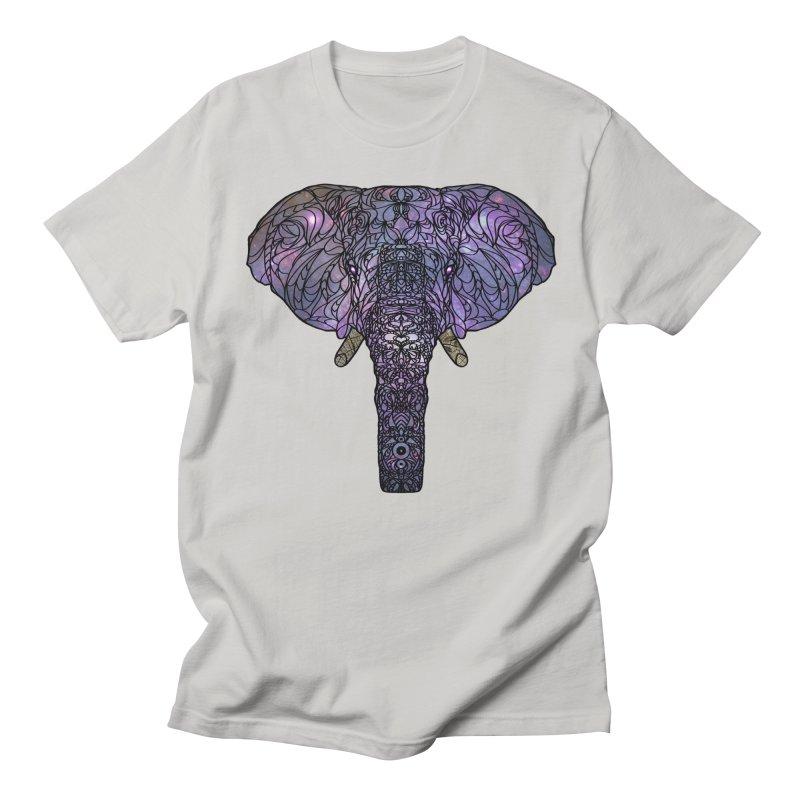 The 'Brilliant' Majestic Elephant  Men's T-shirt by exiledesigns's Artist Shop