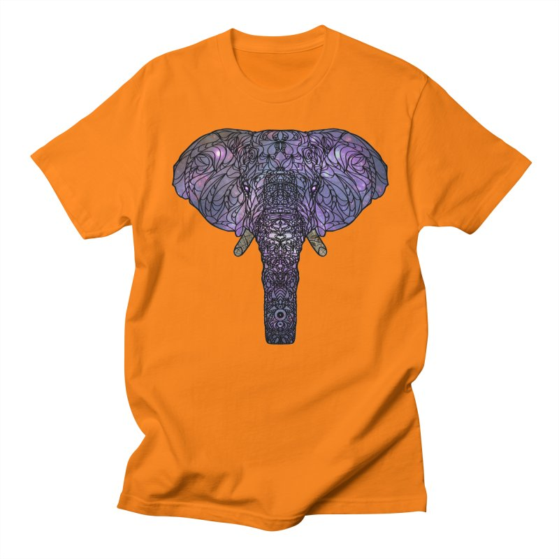 The 'Brilliant' Majestic Elephant  Men's T-Shirt by exiledesigns's Artist Shop