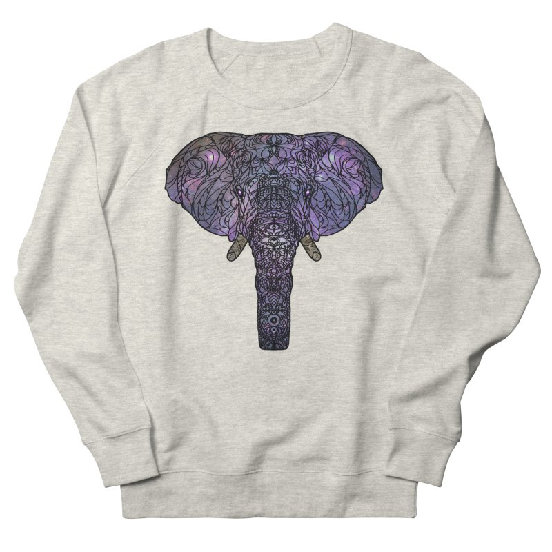 The 'Brilliant' Majestic Elephant  Women's Sweatshirt by exiledesigns's Artist Shop