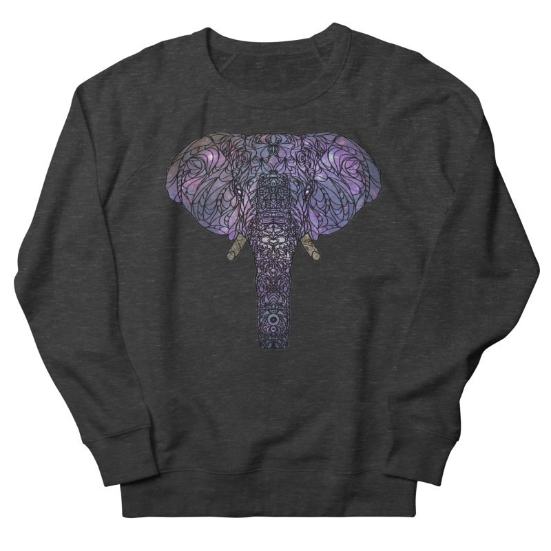 The 'Brilliant' Majestic Elephant  Men's Sweatshirt by exiledesigns's Artist Shop