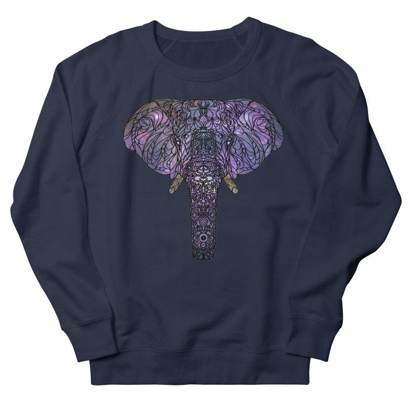 The 'Brilliant' Majestic Elephant  Men's Sweatshirt by exiledesigns's Artist Shop
