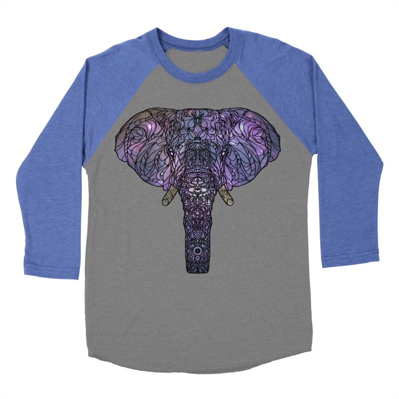 The 'Brilliant' Majestic Elephant  Men's Baseball Triblend T-Shirt by exiledesigns's Artist Shop