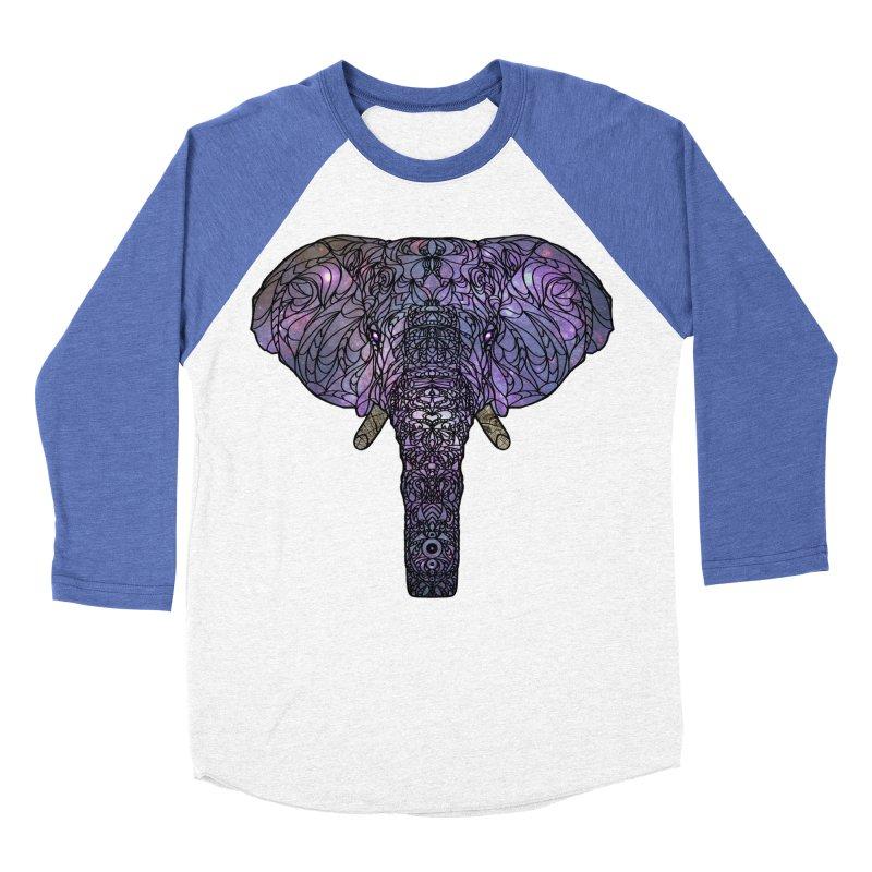 The 'Brilliant' Majestic Elephant  Men's Baseball Triblend T-Shirt by exiledesigns's Artist Shop