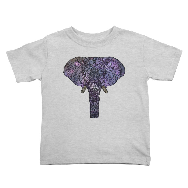 The 'Brilliant' Majestic Elephant  Kids Toddler T-Shirt by exiledesigns's Artist Shop
