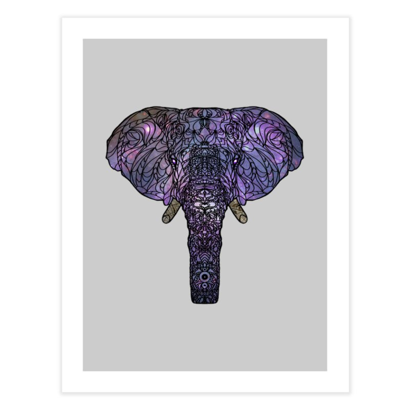 The 'Brilliant' Majestic Elephant  Home Fine Art Print by exiledesigns's Artist Shop