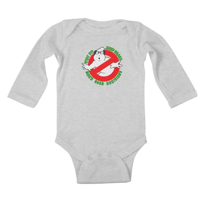 The Keymaster Kids Baby Longsleeve Bodysuit by exiledesigns's Artist Shop