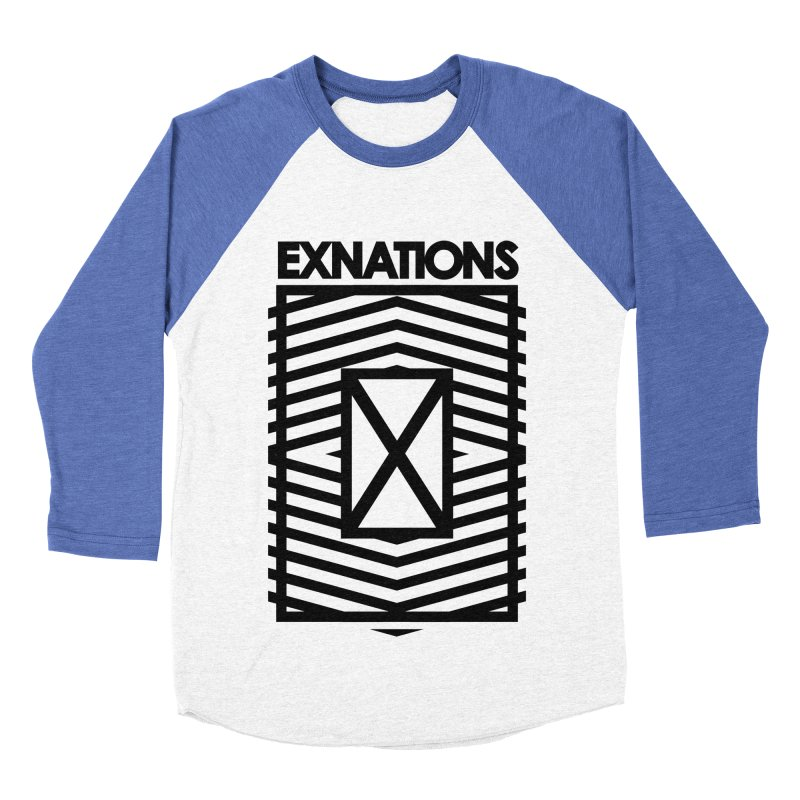 Lines Baseball Tee Men's Baseball Triblend T-Shirt by EXNATIONS OFFICIAL STORE