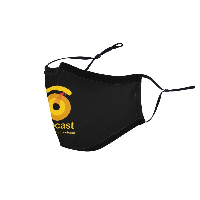 Exocast Podcast Logo Accessories Face Mask by exocast the exoplanet podcast store