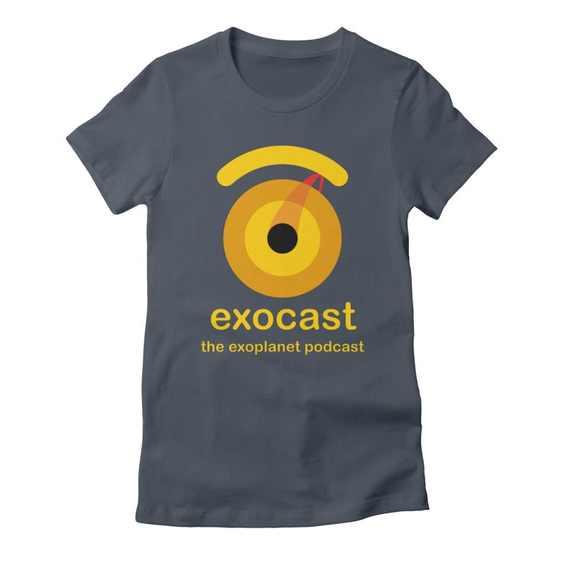 Exocast Podcast Logo Women's T-Shirt by exocast the exoplanet podcast store