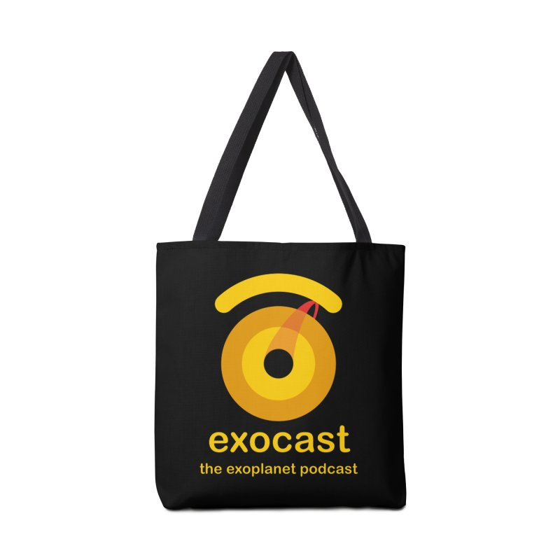 Exocast Podcast Logo Accessories Bag by exocast the exoplanet podcast store