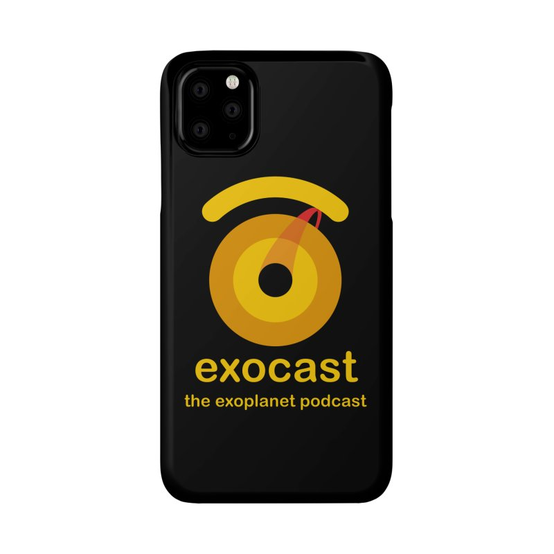 Exocast Podcast Logo Accessories Phone Case by exocast the exoplanet podcast store