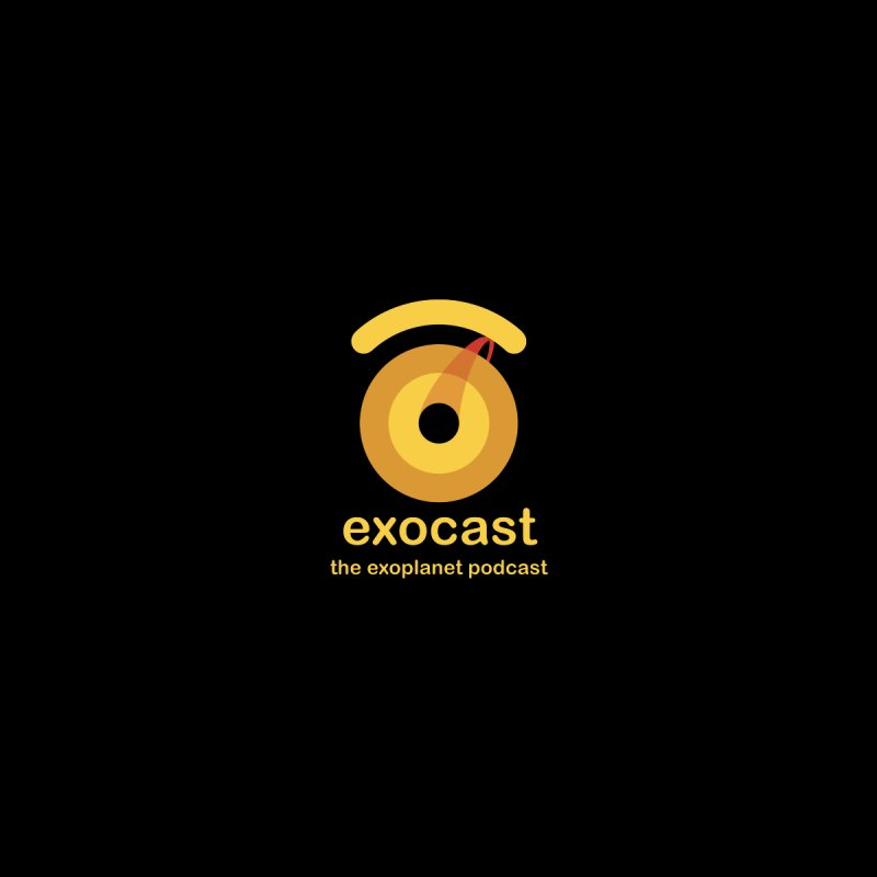 exocast small logo Men's T-Shirt by exocast the exoplanet podcast store