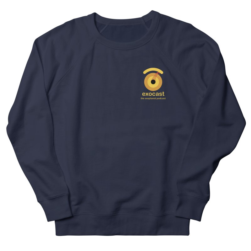 exocast small logo Men's Sweatshirt by exocast the exoplanet podcast store