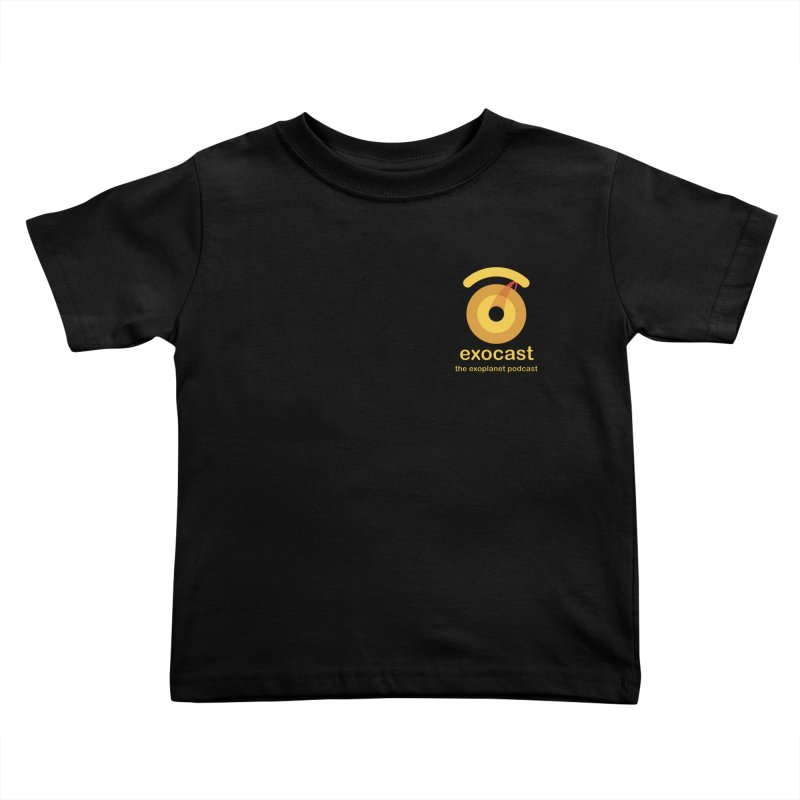 exocast small logo Kids Toddler T-Shirt by exocast the exoplanet podcast store