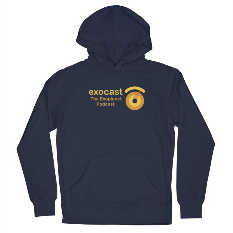 Exocast Clothing Men's Pullover Hoody by exocast the exoplanet podcast store