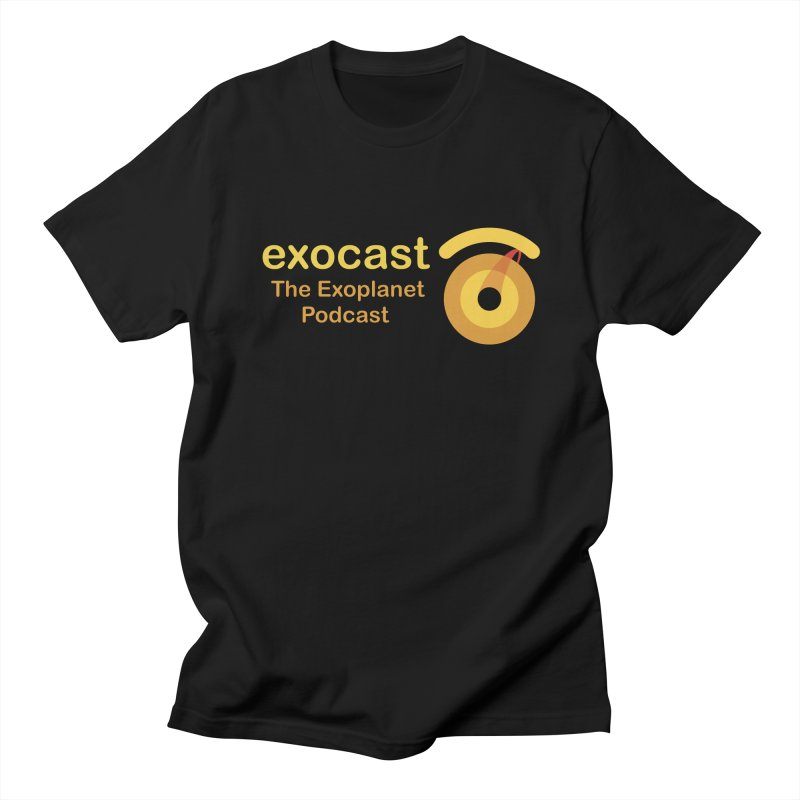 Exocast Clothing Men's T-Shirt by exocast the exoplanet podcast store