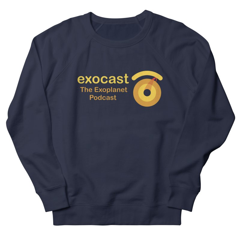 Exocast Clothing Women's Sweatshirt by exocast the exoplanet podcast store