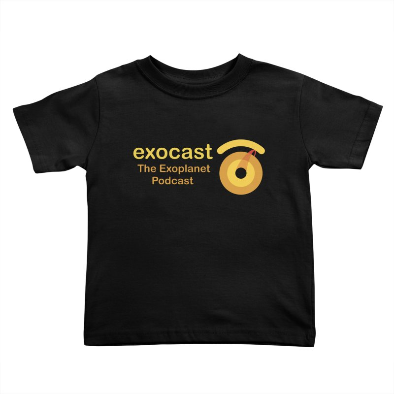 Exocast Clothing Kids Toddler T-Shirt by exocast the exoplanet podcast store