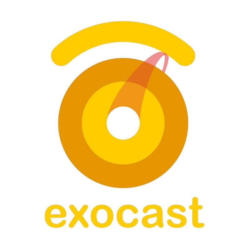 exocast (no tagline) Men's T-Shirt by exocast the exoplanet podcast store
