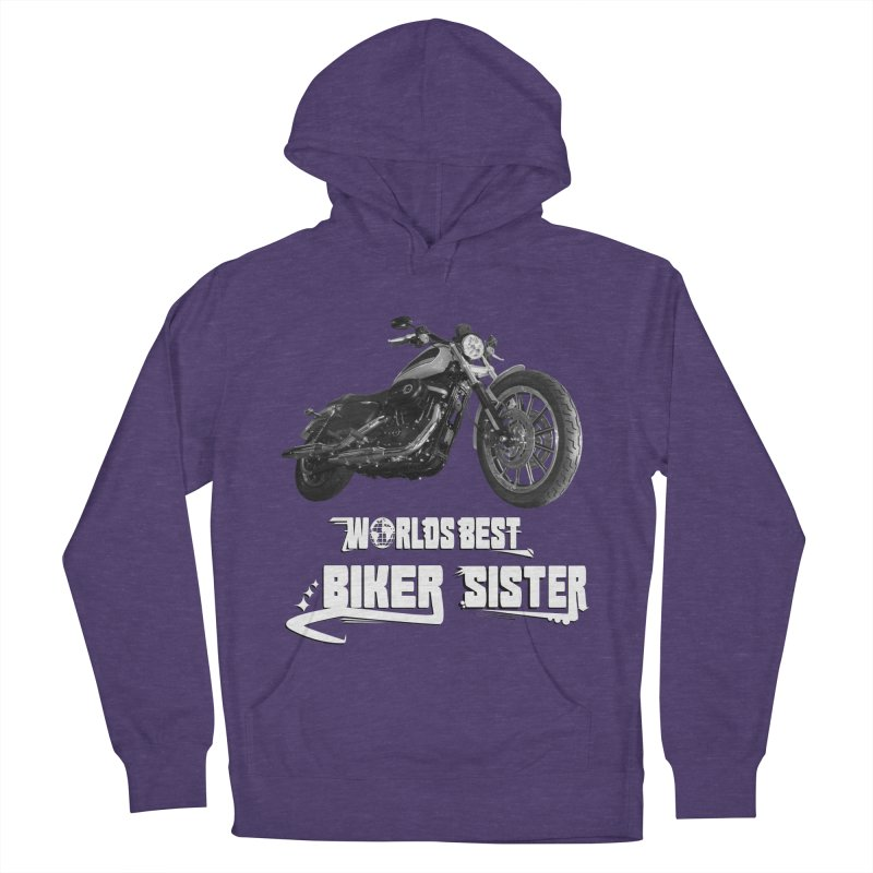 WORLDS BEST SISTER Women's French Terry Pullover Hoody by ExploreDaily's Artist Shop