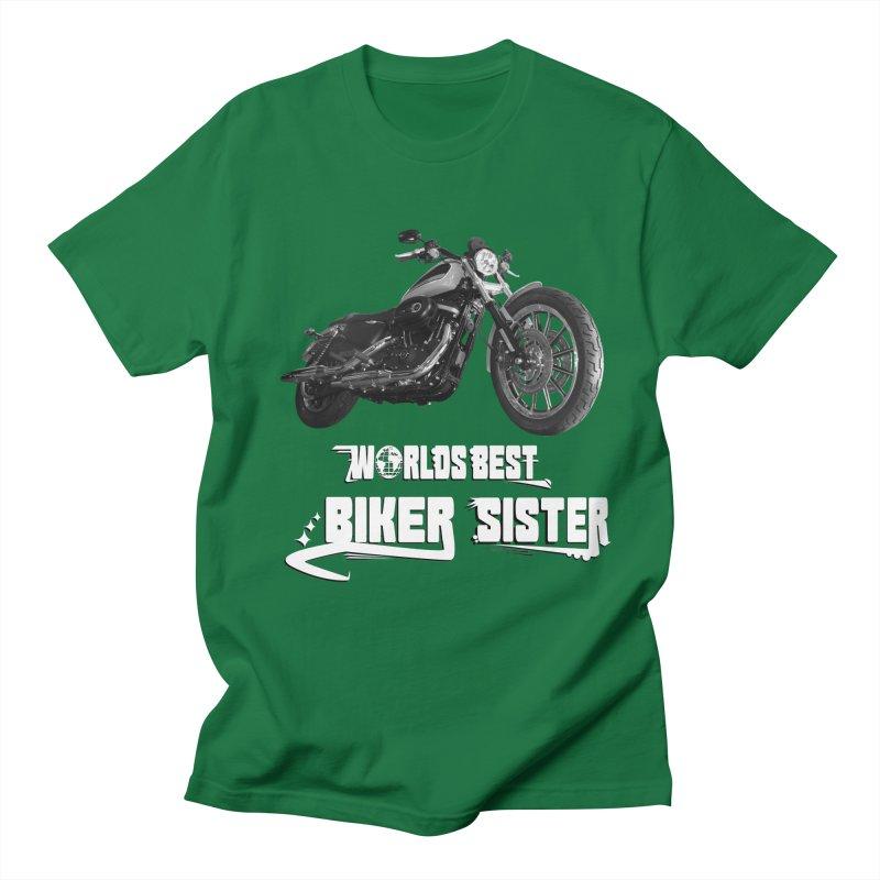 WORLDS BEST SISTER Men's Regular T-Shirt by ExploreDaily's Artist Shop