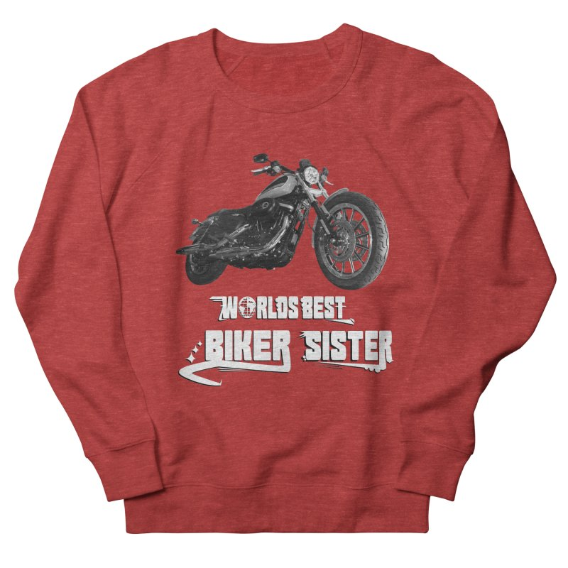 WORLDS BEST SISTER Men's French Terry Sweatshirt by ExploreDaily's Artist Shop