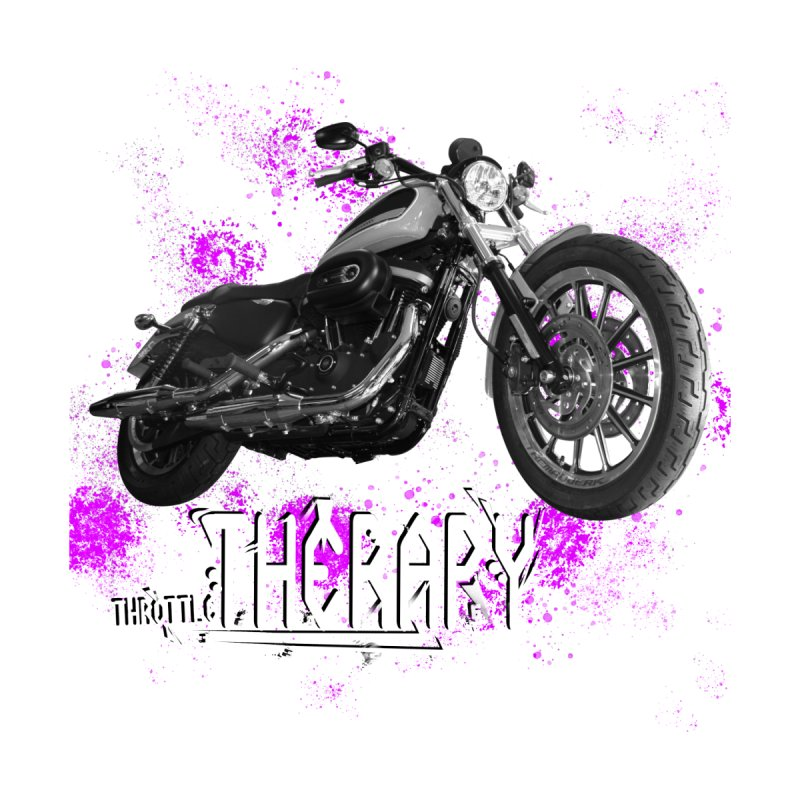 THROTTLE THERAPY SPLAT by ExploreDaily's Artist Shop