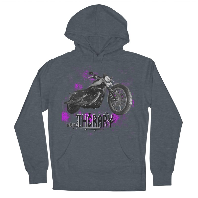 throttle therapy splatter 2 Women's French Terry Pullover Hoody by ExploreDaily's Artist Shop